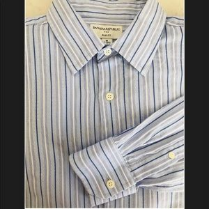 Banana Republic slim fit button up dress shirt